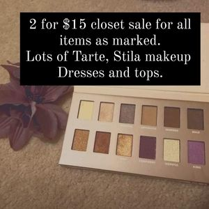 Closet sale 2 for $15